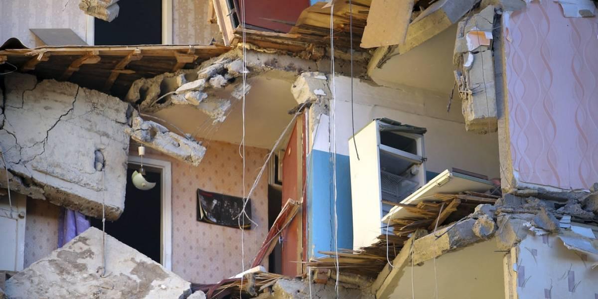 Rusia: suben a 21 los muertos en derrumbe de edificio