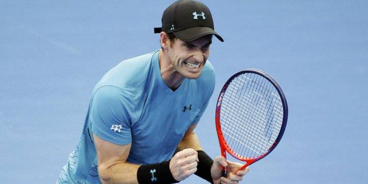 Torneo Brisbane: Andy Murray chocó con pared