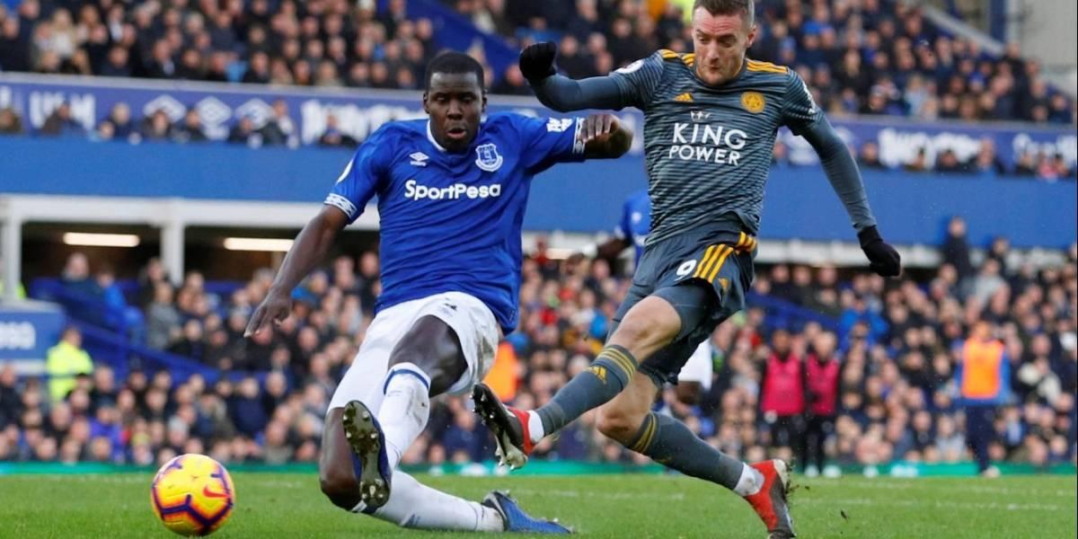 El Leicester City vence al Everton en el primer partido del año de la Premier League