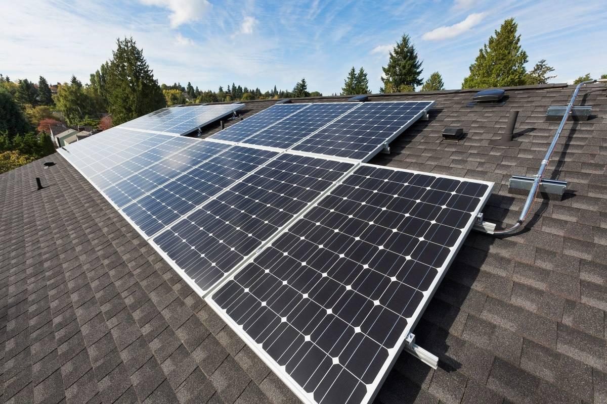 Internet De Las Cosas Sistema De Paneles Solares Te