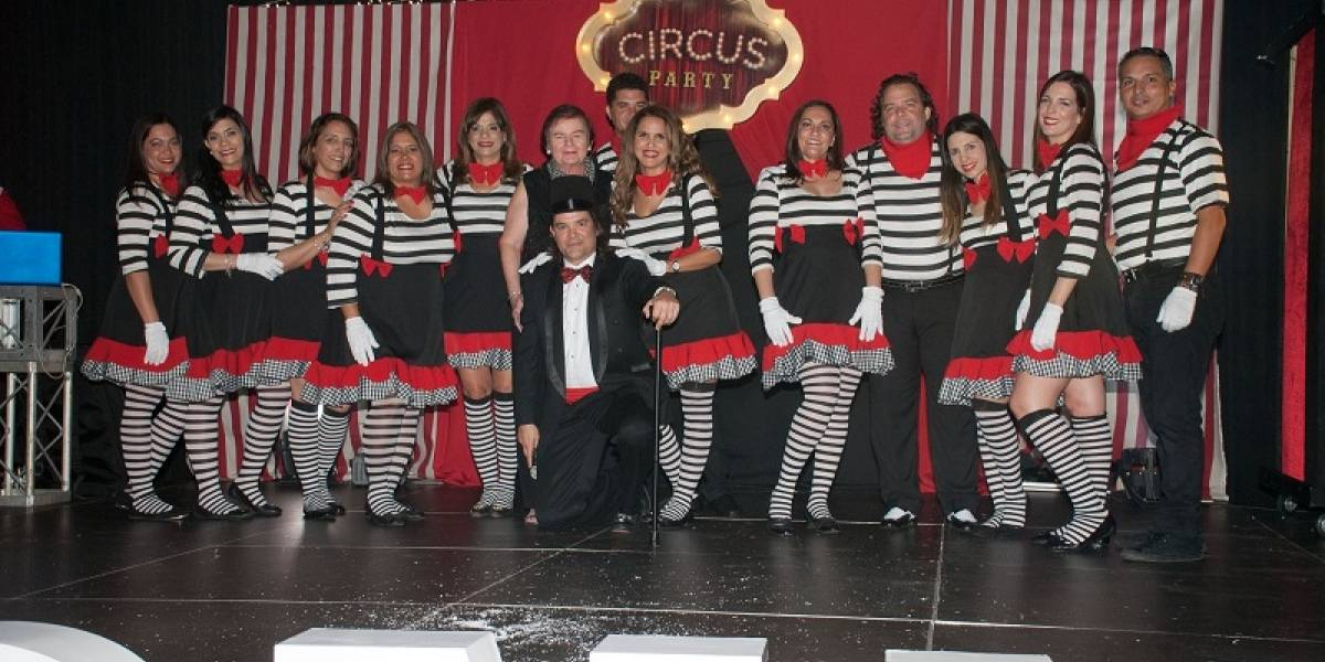 #TeVimosEn: GCNH celebra fiesta empresarial al estilo circense