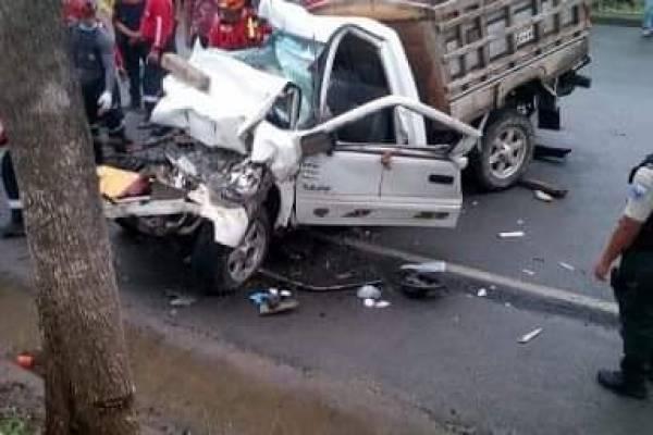 Accidente en Manta