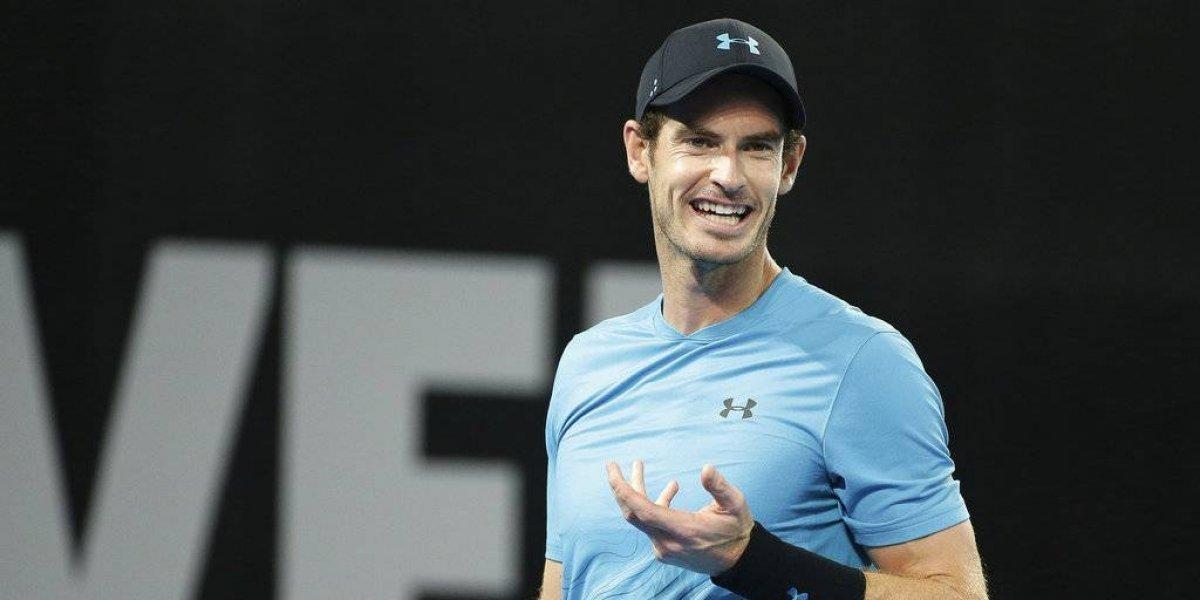 Murray vuelve a las canchas con triunfo en Brisbane