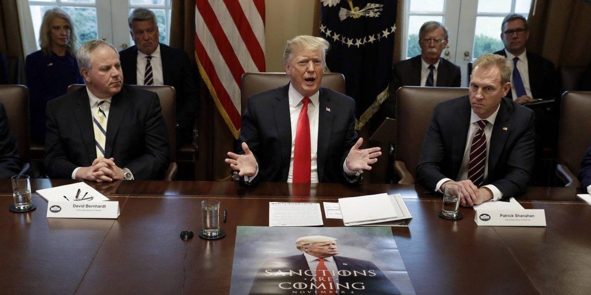 Trump se reúne con líderes del Congreso para discutir muro fronterizo