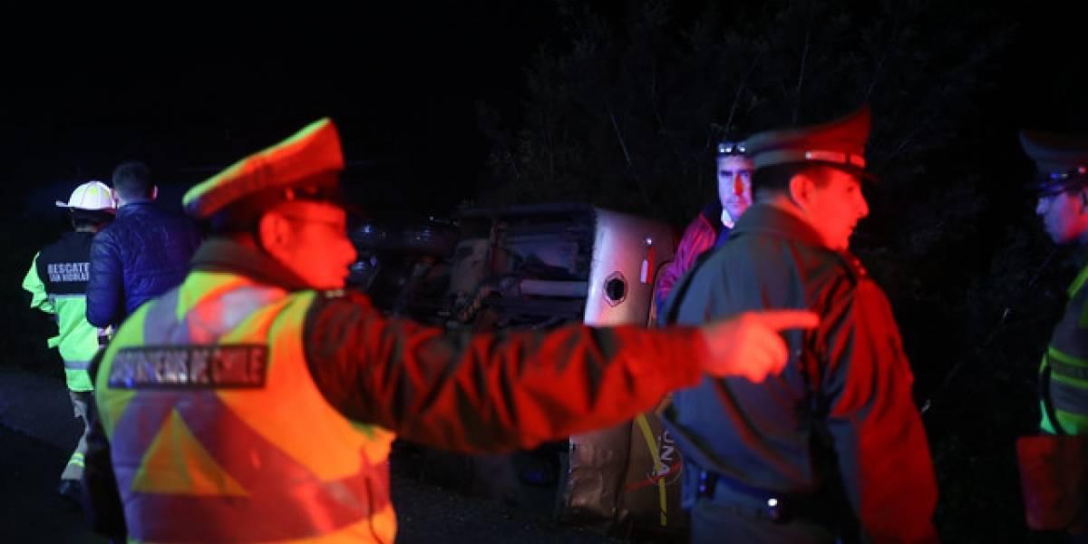 Tragedia en Magallanes: volcamiento de automóvil deja tres personas fallecidas