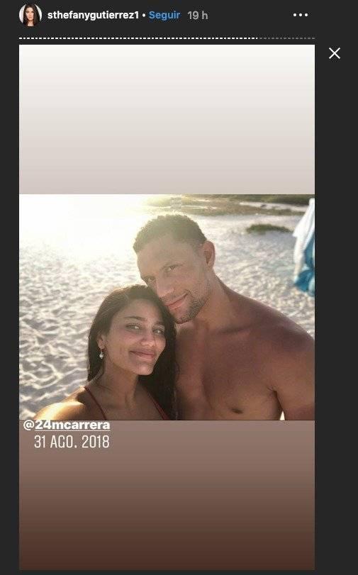 Miss Venezuela, Sthefany Gutierrez y su novio Instagram