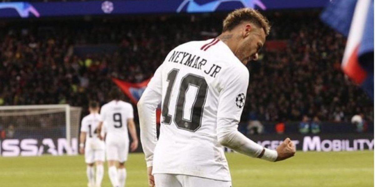 De esta manera recibió el 2019, Neymar