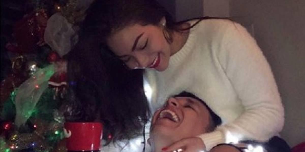 Maykel y su novia borraron de Instagram sus fotos juntos