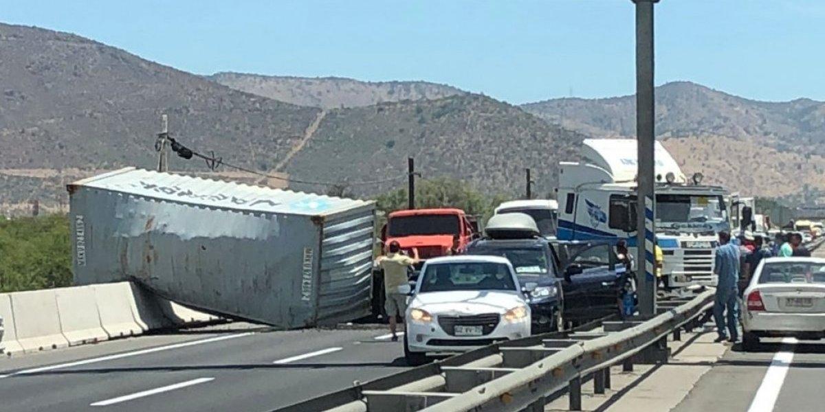 Grave accidente en Ruta 68: dos de los lesionados son menores de edad