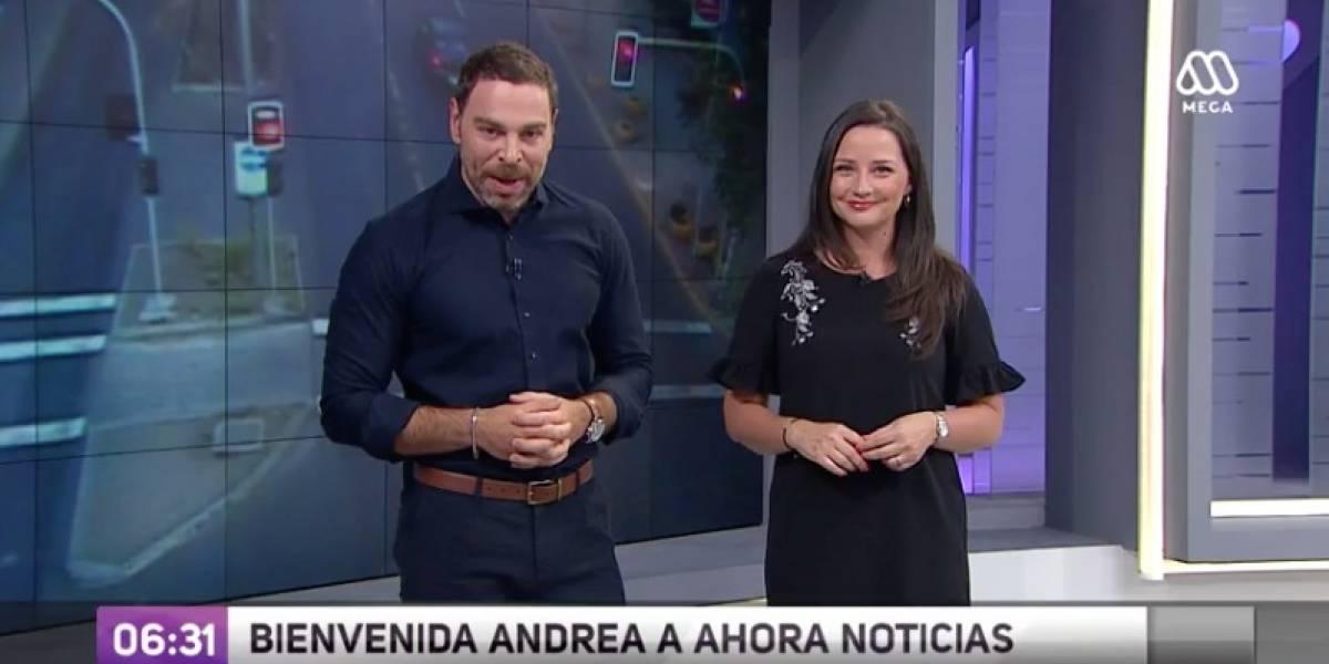 Así fue el debut de Andrea Arístegui en Mega tras su salida de TVN