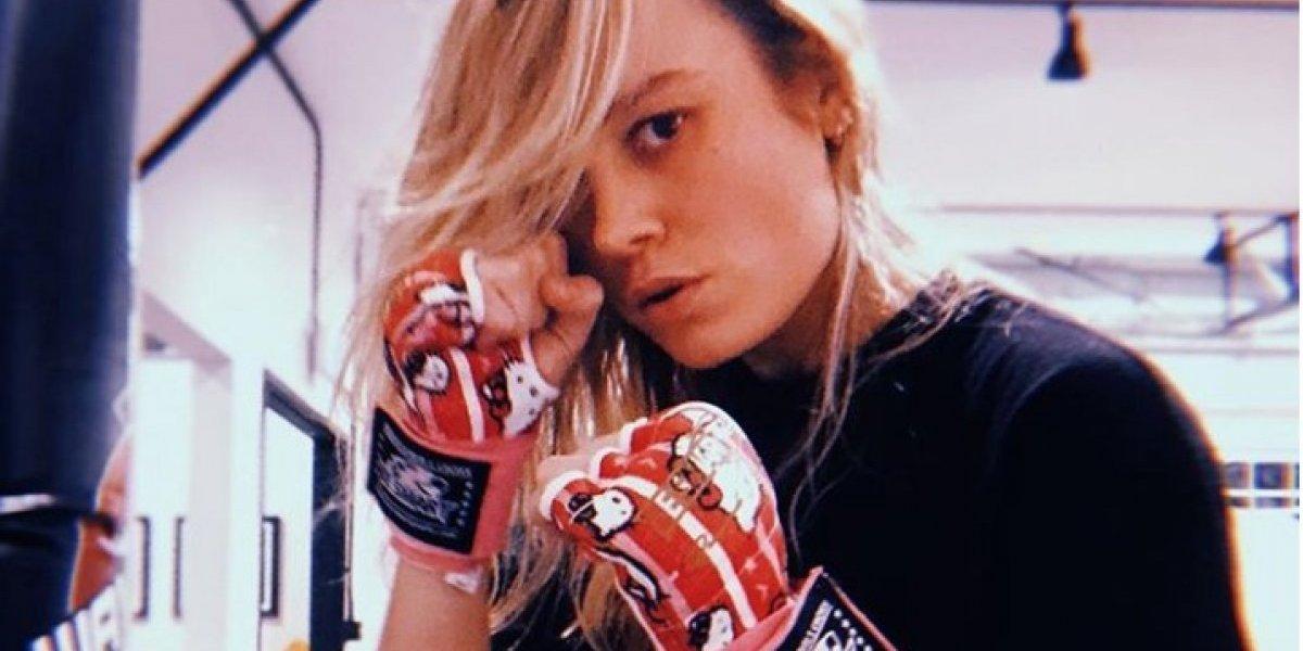 Capitana Marvel: Así se entrena Brie Larson