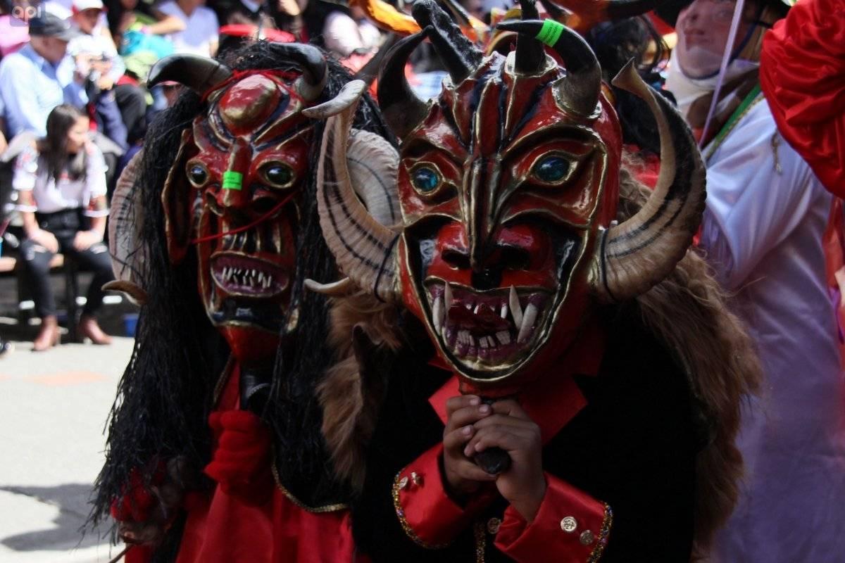 La Diablada de Píllaro, una tradición que renace cada Año Nuevo API