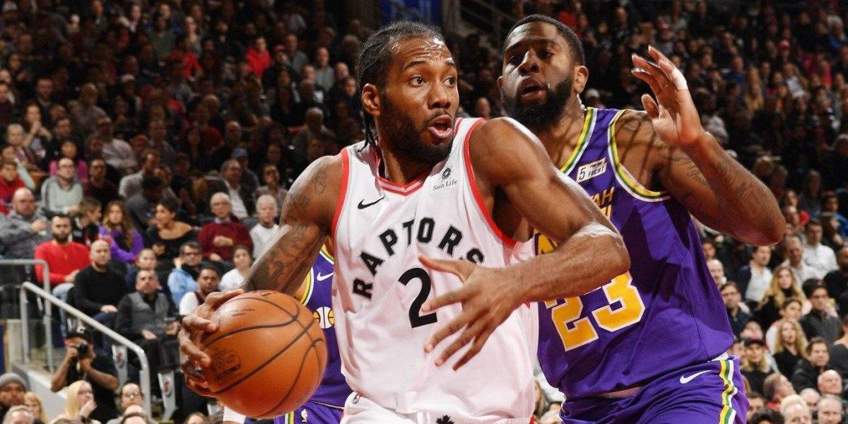 NBA: Kahwi Leonard logró su mejor marca como profesional en triunfo de Raptors sobre Jazz