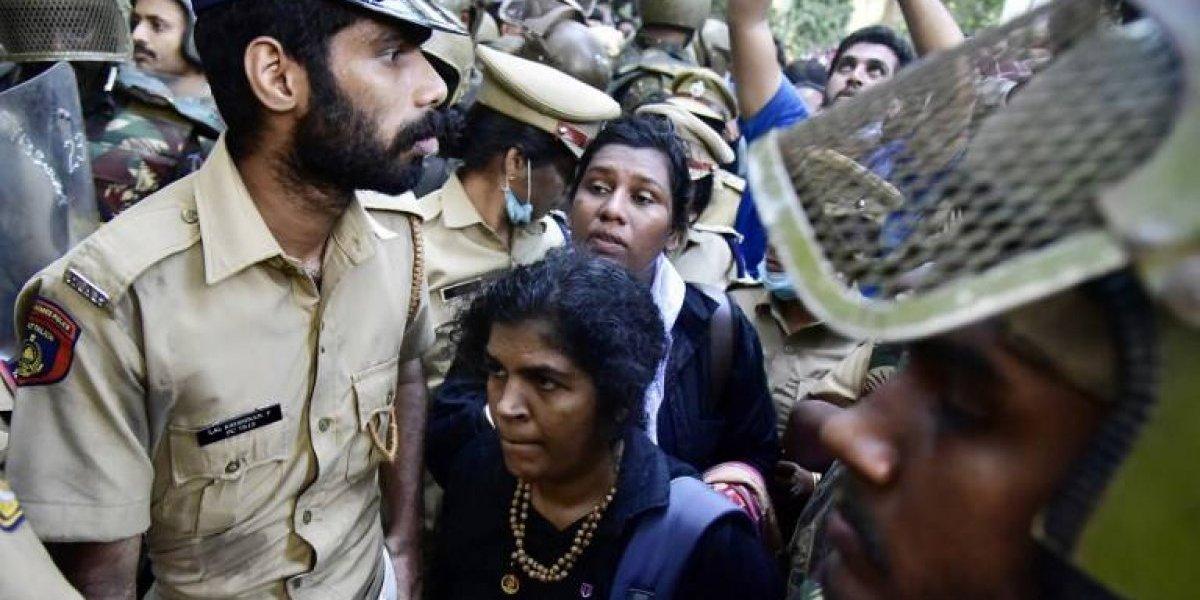 VIDEO. Enfrentamientos tras ingreso de dos mujeres en un templo en India