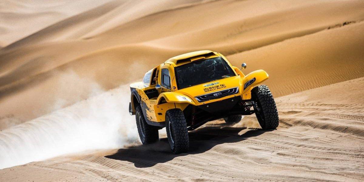 Geely afrontará el Dakar 2019 con un buggy a metanol