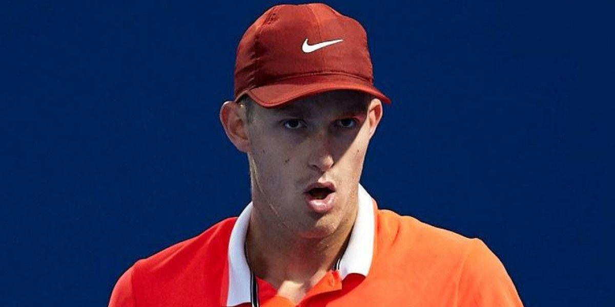 Nicolás Jarry también perdió en el dobles de Doha y toma sus maletas para partir a Australia