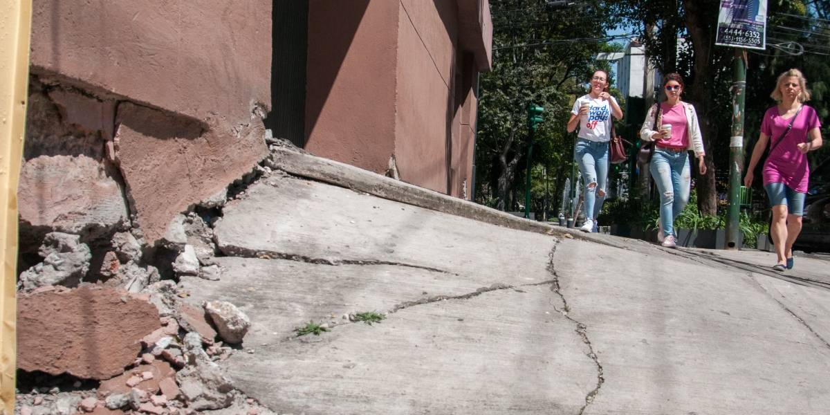 Viviendas afectadas por grietas en 6 alcaldías no pagarán predial
