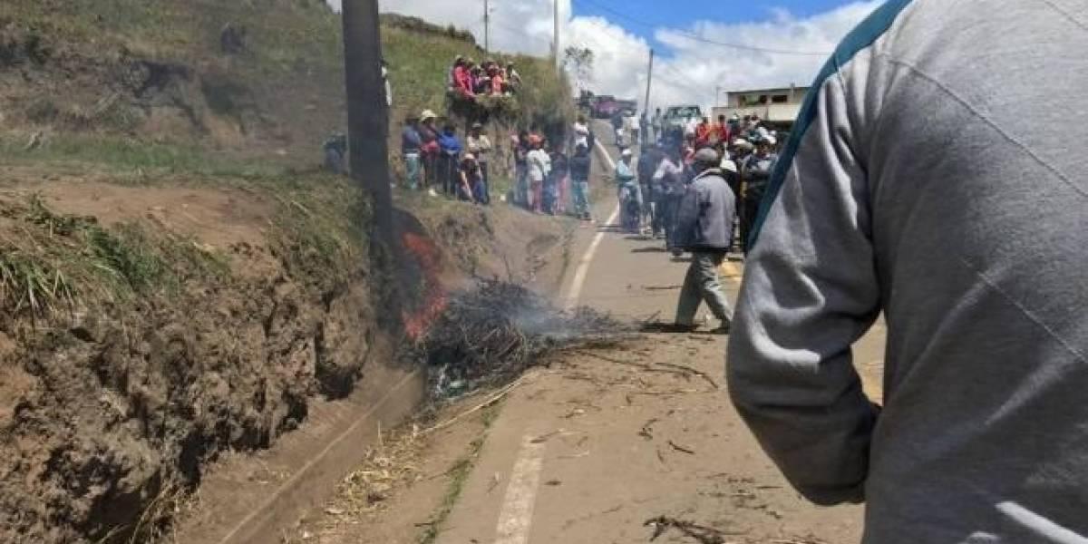 Ambato: Hombre fue quemado vivo por presunto intento de robo