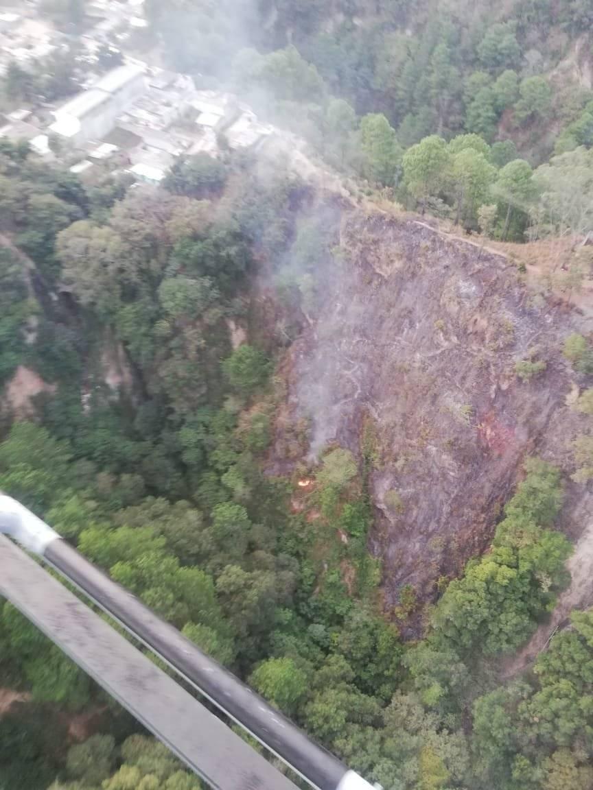 incendio en Sacoj, Mixco