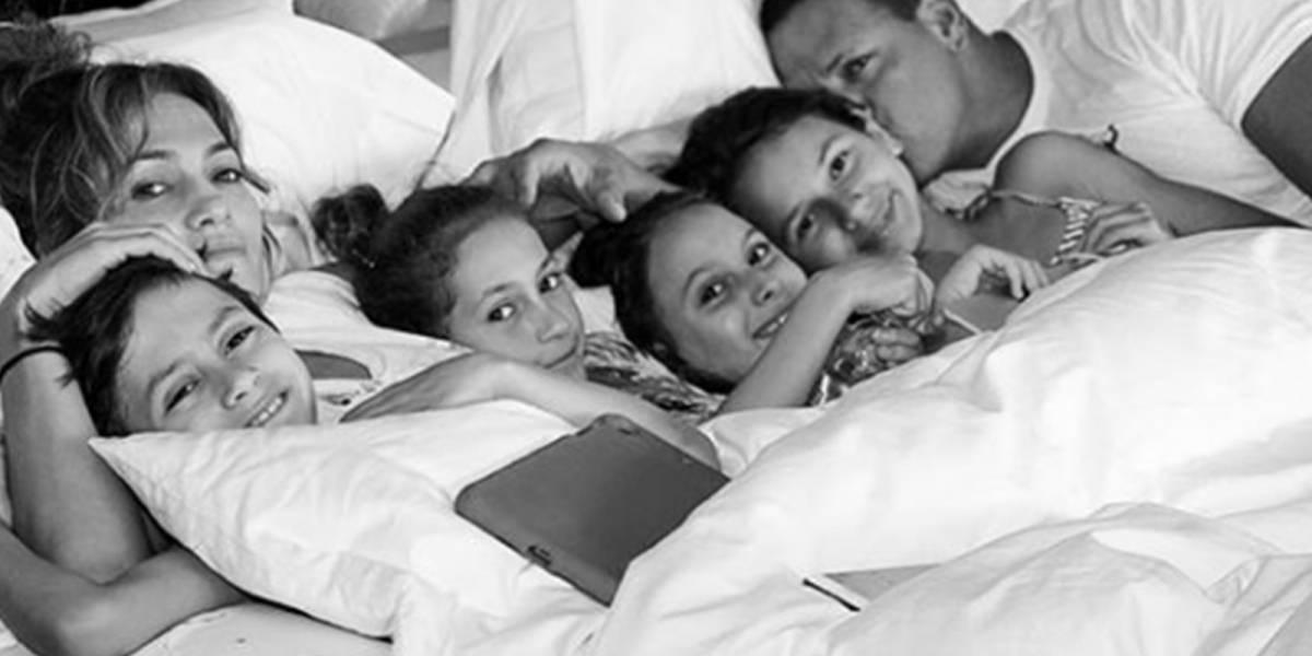 Critican a Jennifer López y Álex Rodríguez por poner en riesgo la seguridad de sus hijos