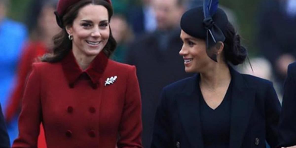 El tierno gesto de Kate Middleton hacia Meghan Markle con el que calló todos los rumores de enemistad