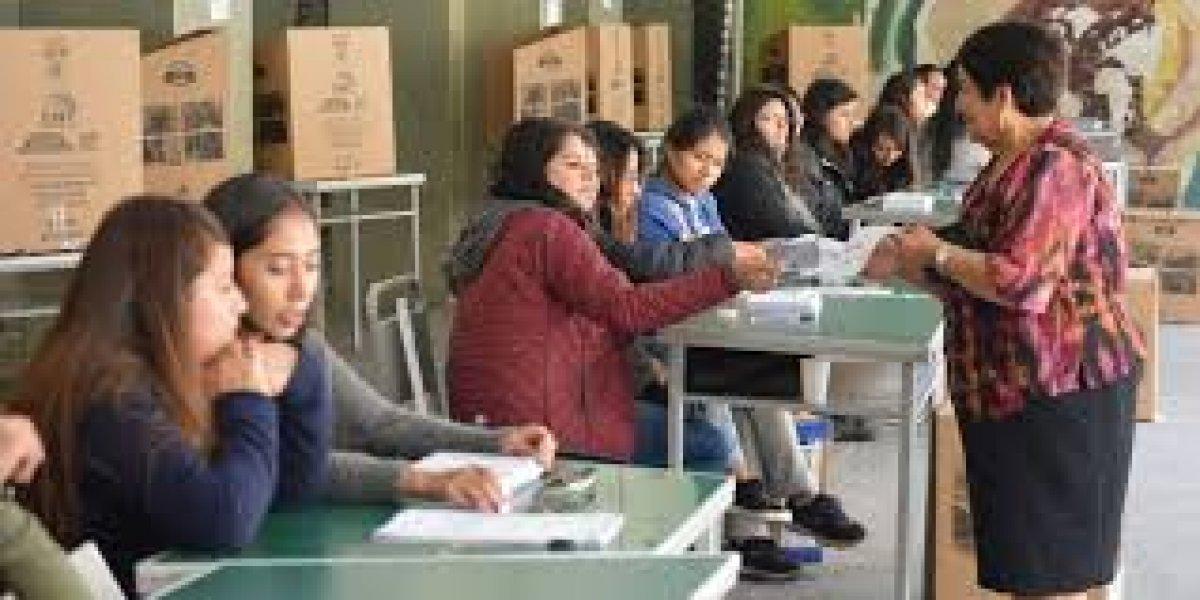 Capacitación a miembros de juntas receptoras del voto inicia el 7 de enero