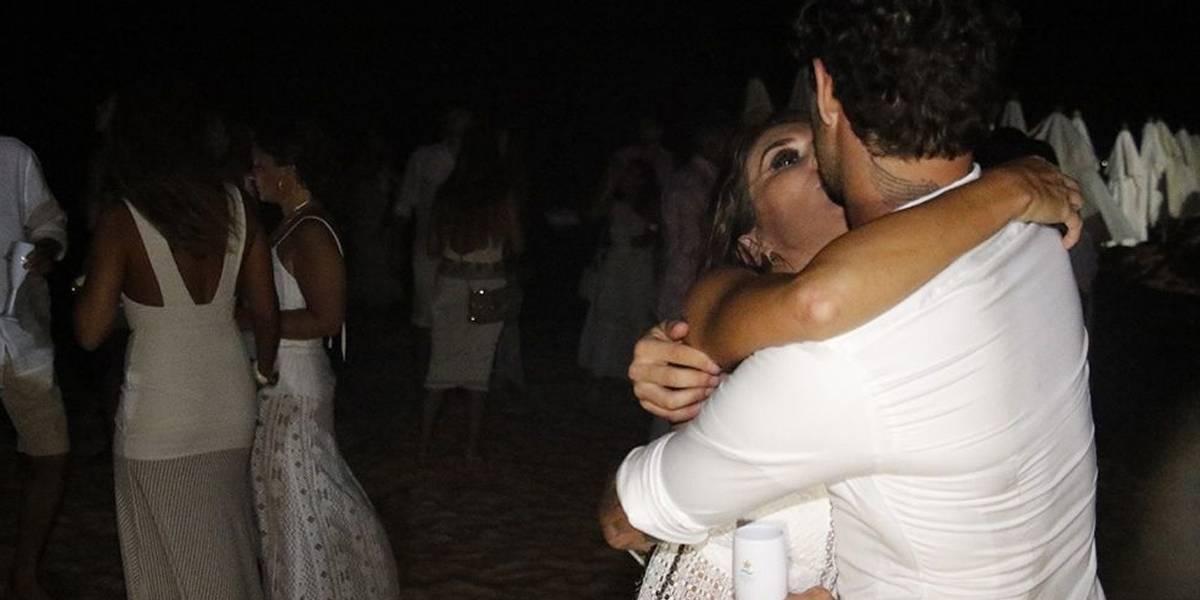 Rebeca Abravanel e Alexandre Pato curtem Réveillon juntos em Trancoso