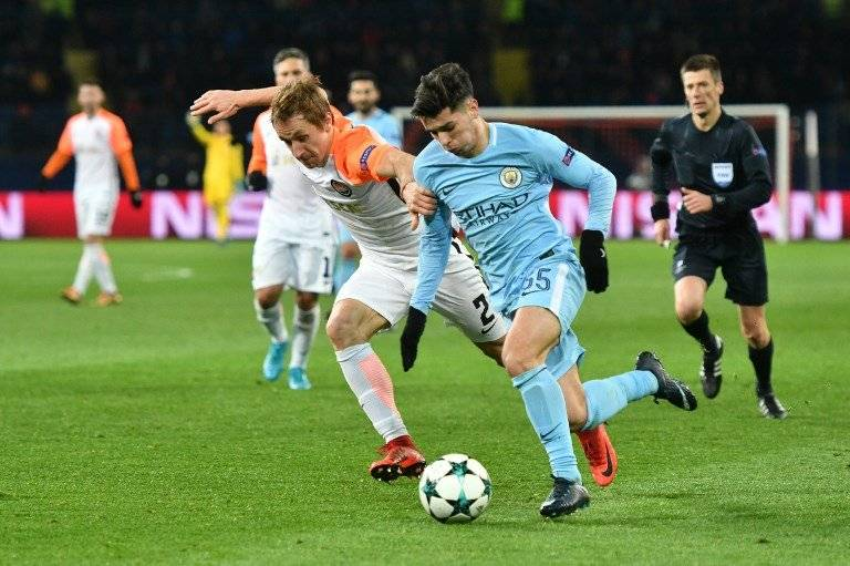 Brahim Díaz con el Manchester City