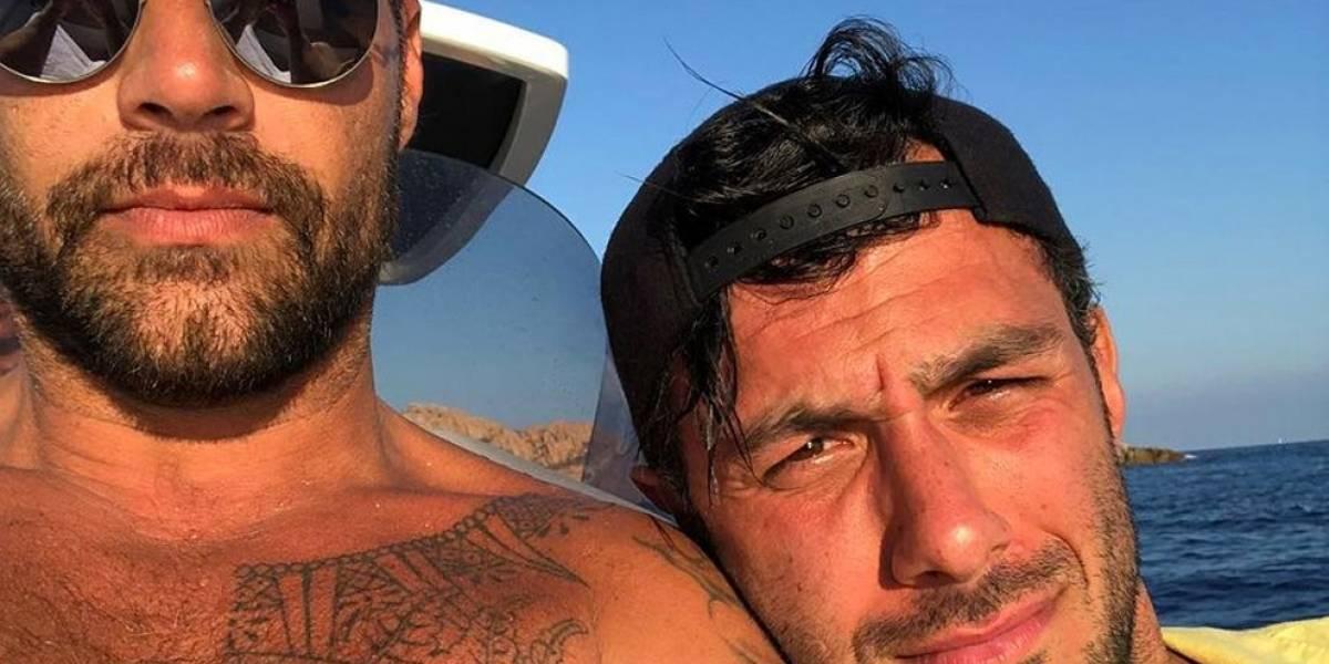 Ricky Martin posta foto de sua filha que acaba de nascer, Lucía Martin-Yosef