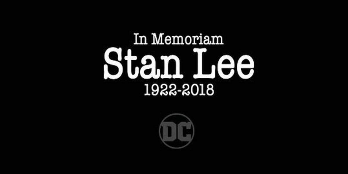 Así es como DC Comics le rinde tributo a Stan Lee
