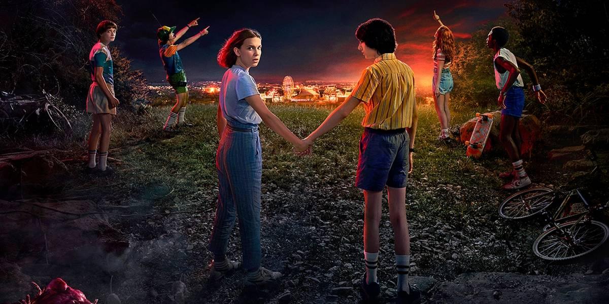 Netflix divulga trailer, pôster e data de estreia da terceira temporada de 'Stranger Things'