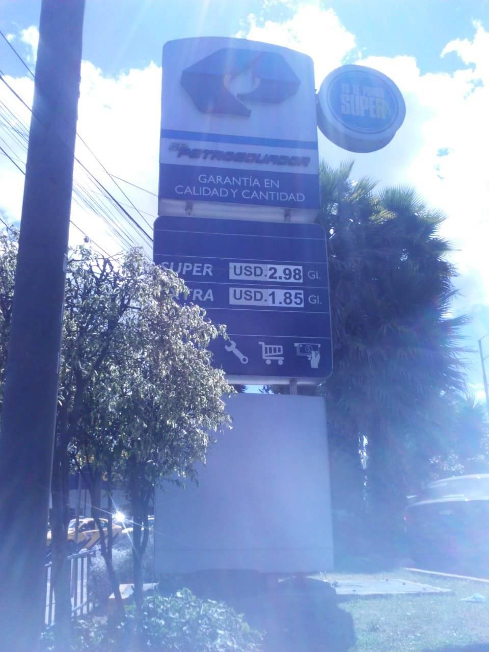 gasolineras en Quito Metro Ecuador