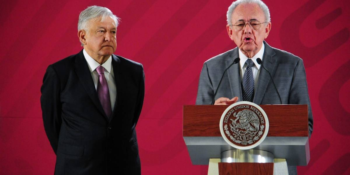Obras de NAIM están suspendidas: Jiménez Espriú