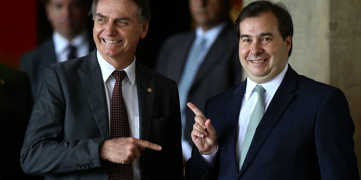 PSL sinaliza apoio a Rodrigo Maia para a presidência da Câmara