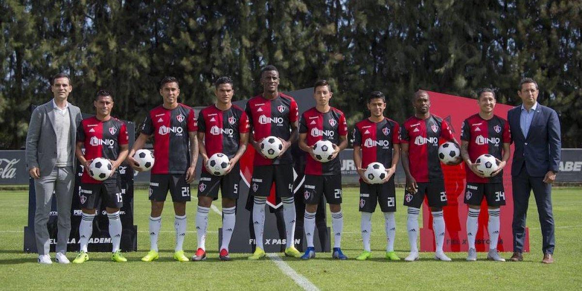 Atlas presentó a sus ocho refuerzos para el Clausura 2019