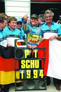 Michael Schumacher – 1º Título