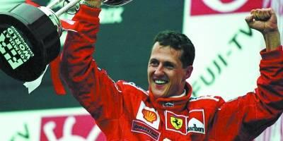 Michael Schumacher – 3º Título