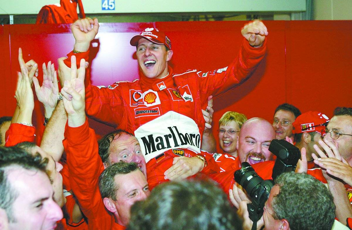 6º Título - 2003 Hoch Zwei/Corbis/Getty Images
