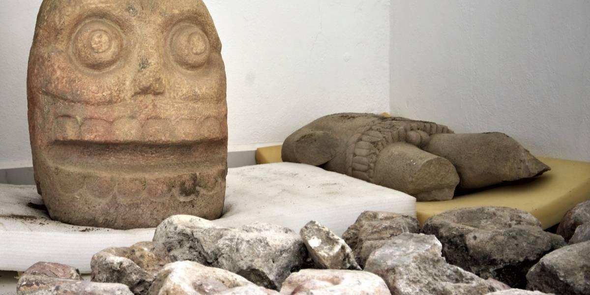 """Descubren el primer templo dedicado a Xipe Tótec, el """"Dios Desollado"""""""