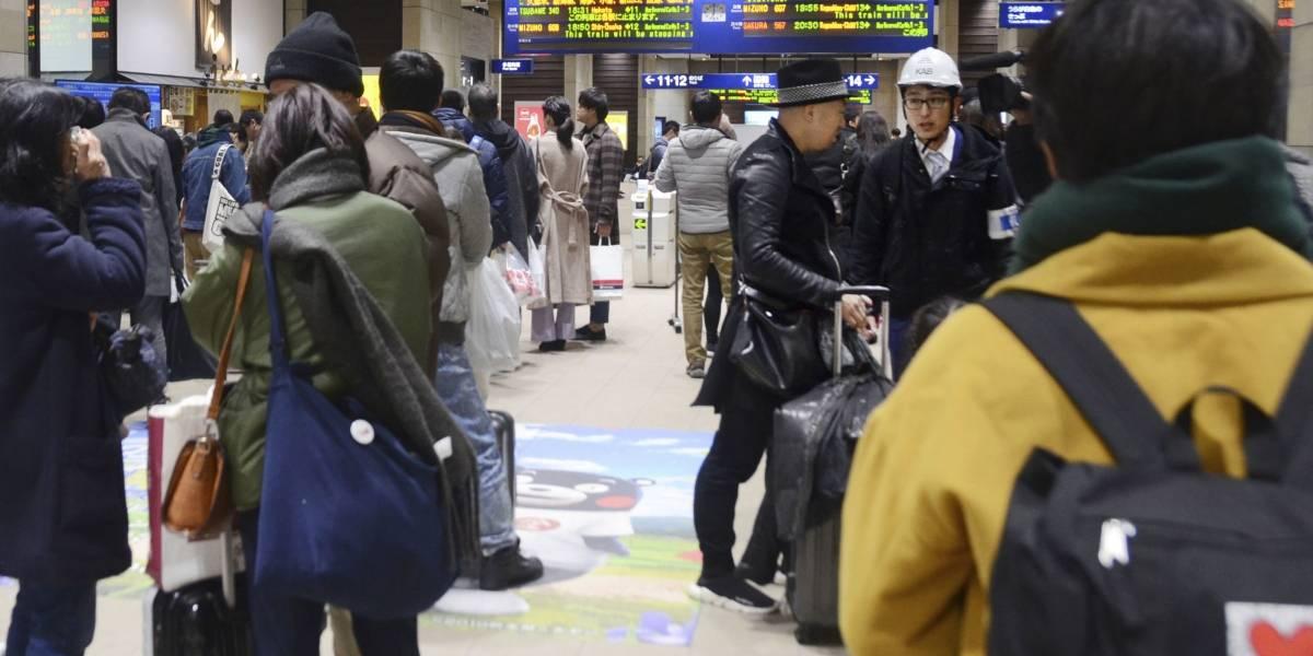 Sismo remece suroeste de Japón