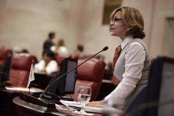 Zoe Laboy, senadora por el Partido Nuevo Progresista. Suministrada