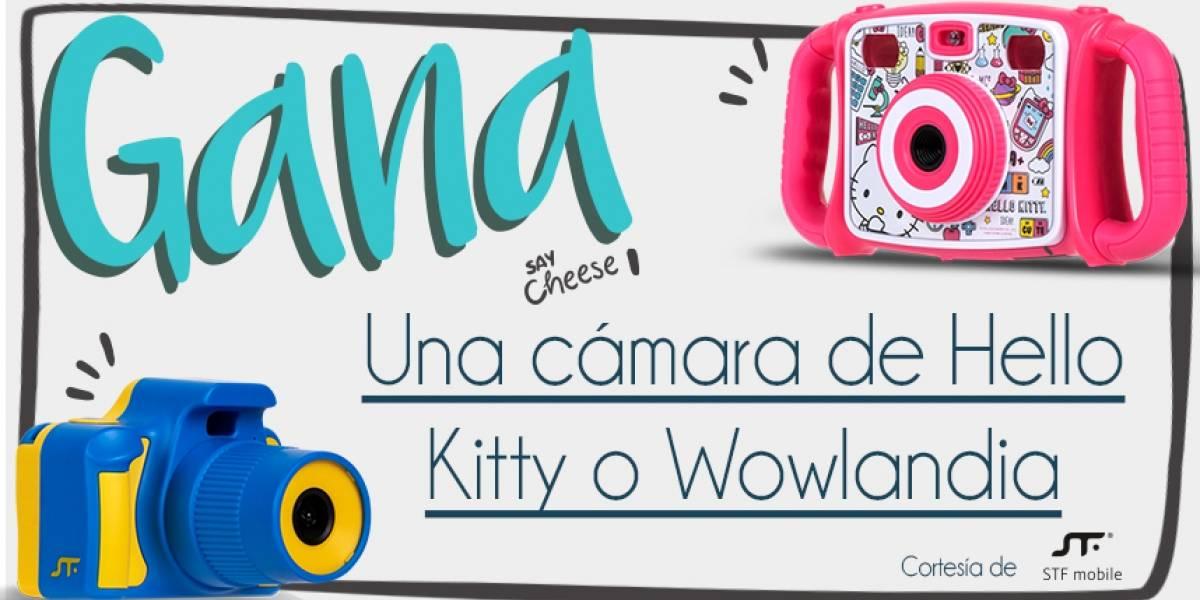 ¡Gana! una cámara Wowlandia ó Hello Kitty