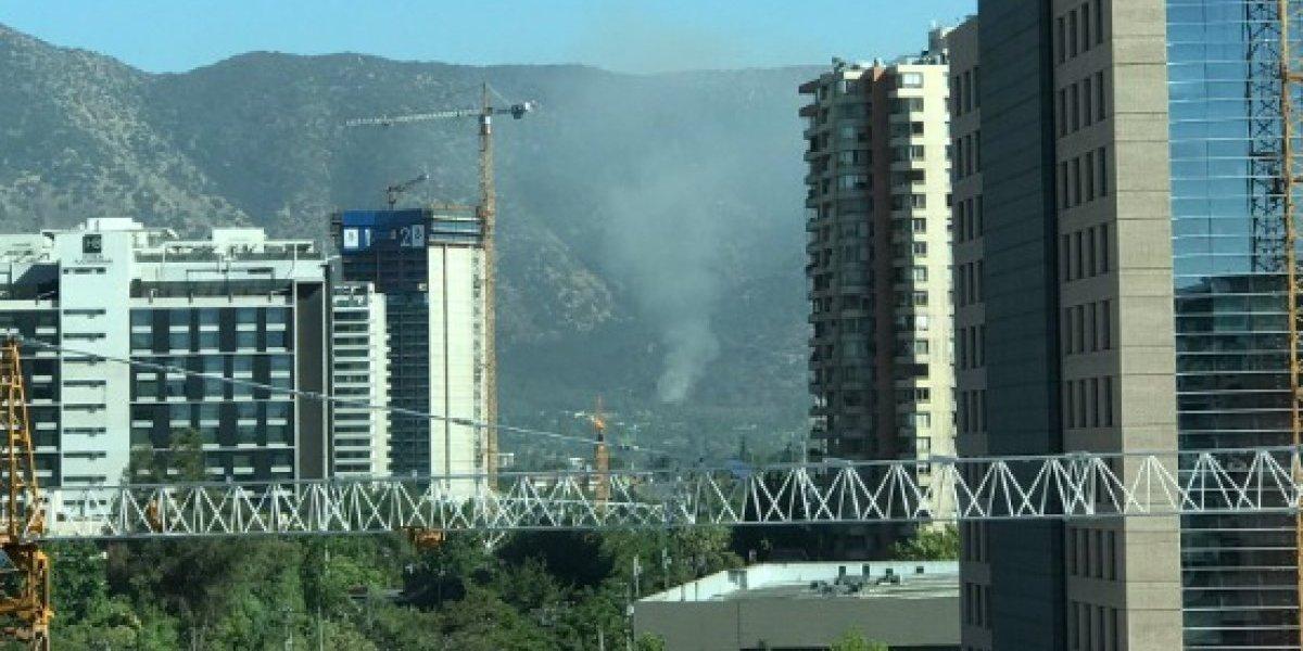 Incendio afecta Cerro Manquehue por segunda vez en una semana