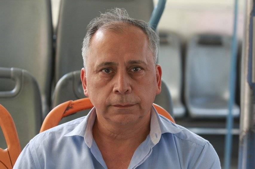 Luis Alfaro, pasajero de Transantiago / Sylvio García