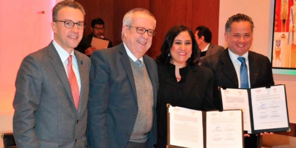 SHCP Y SFP firman convenio para luchar contra la corrupción