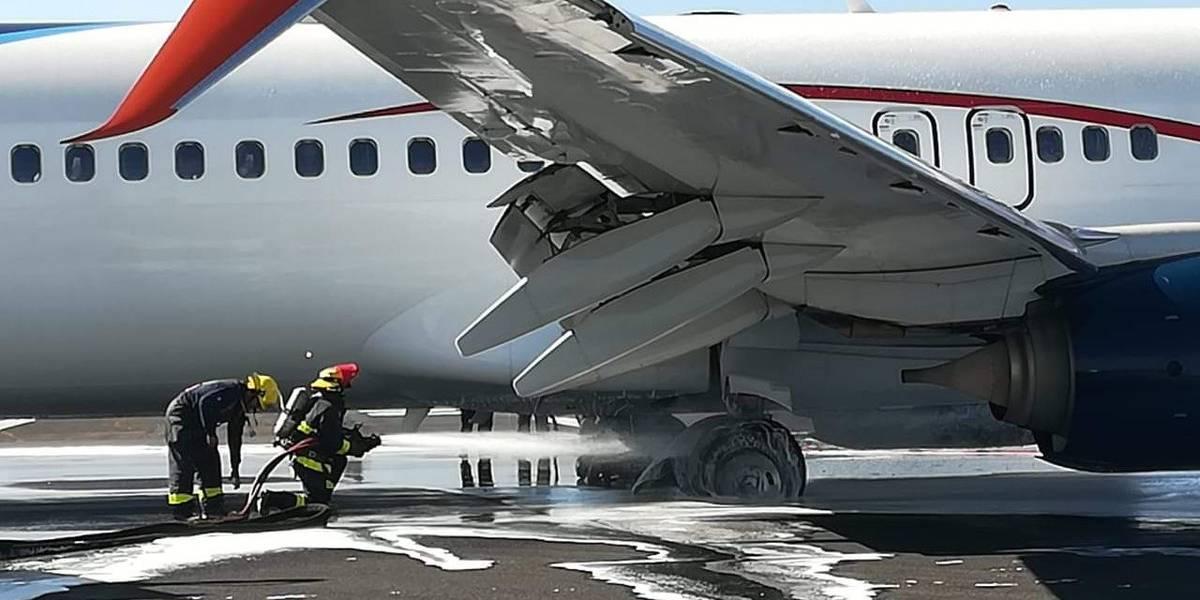Percance de avión en Guadalajara afecta 76 vuelos en aeropuerto