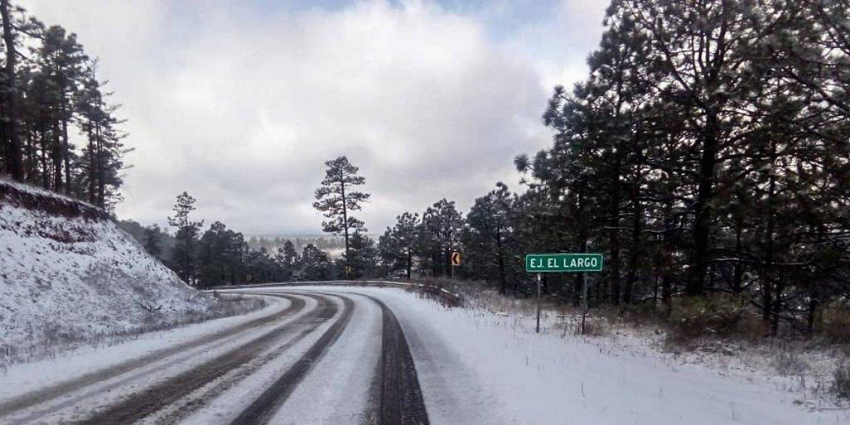 Tras nevadas, declaran emergencia para 12 municipios de Chihuahua