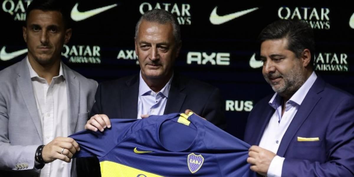 Gustavo Alfaro asume la dirección técnica del argentino Boca Juniors