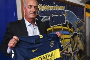 Gustavo Alfaro, presentado con Boca Juniors