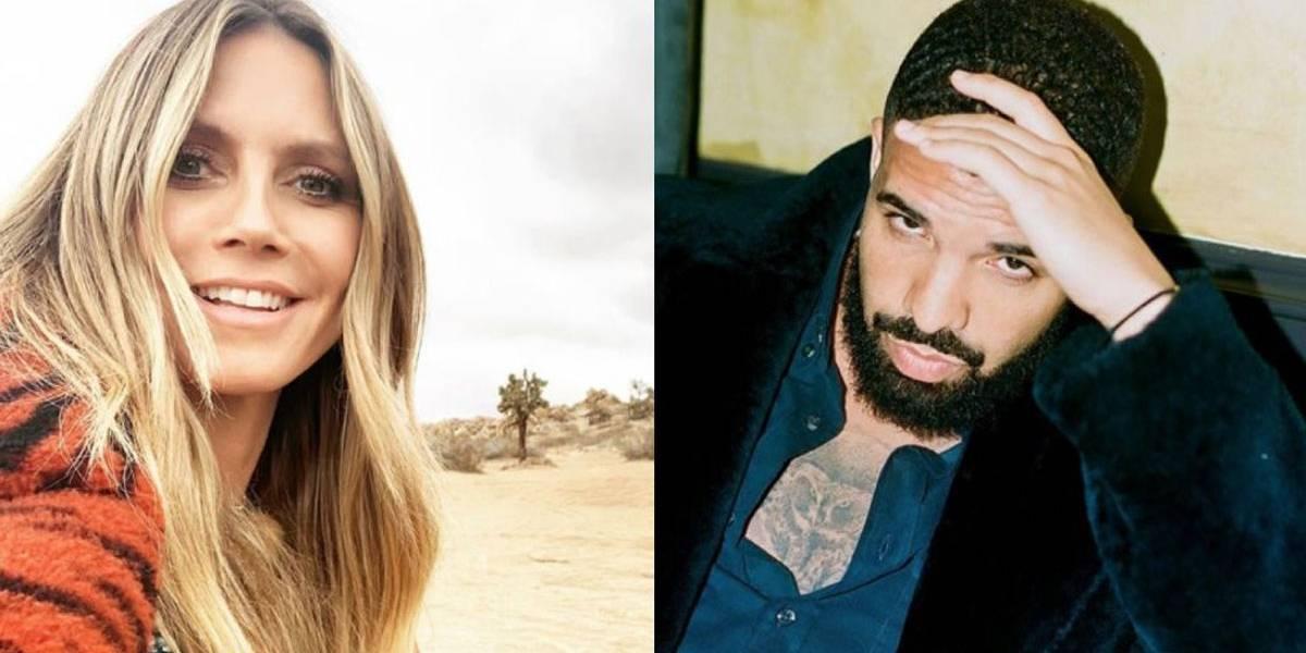 Heidi Klum pediu desculpas por deixar Drake 'no vácuo' quando ele a convidou para sair; entenda